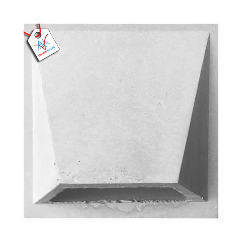 Gạch bánh ú bằng Vinatiles trắng (200x200x50 mm)