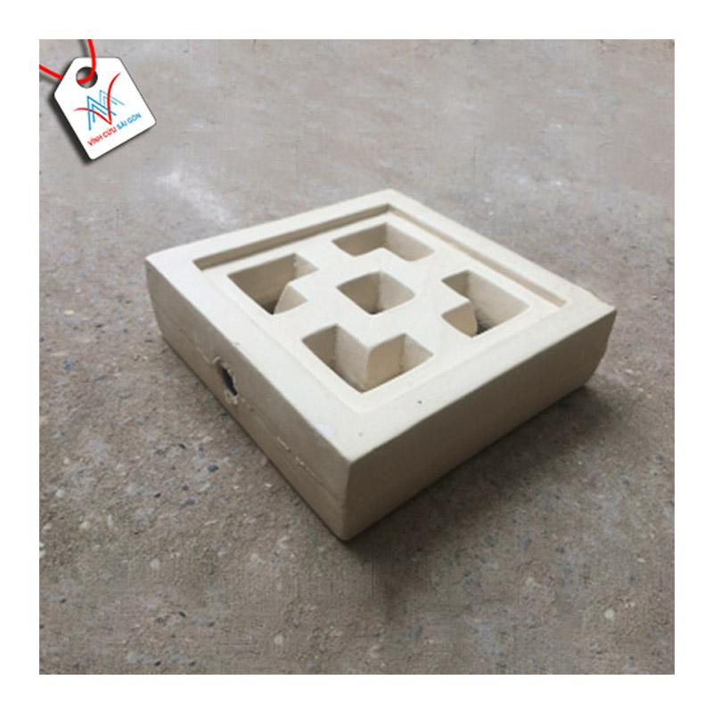 Gạch thông gió Cube men BE VCSG-TGM-V20 (20x20x6 cm)