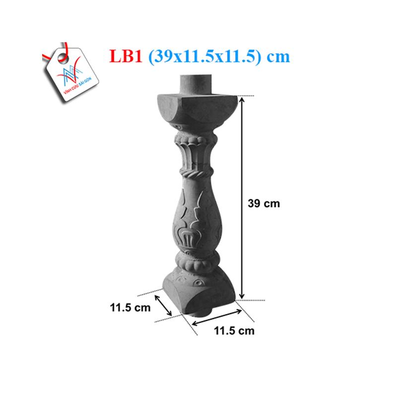 Lục bình bông 40 - LB1 (39x11,5x11,5 cm)