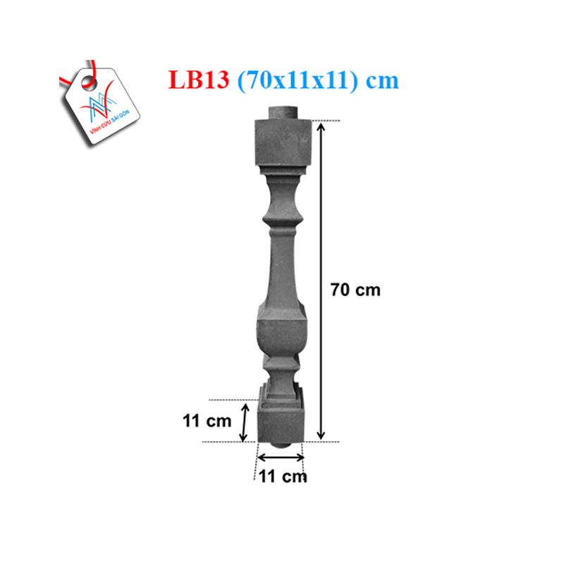 Lục bình vuông 70 - LB13 (70x11x11 cm)