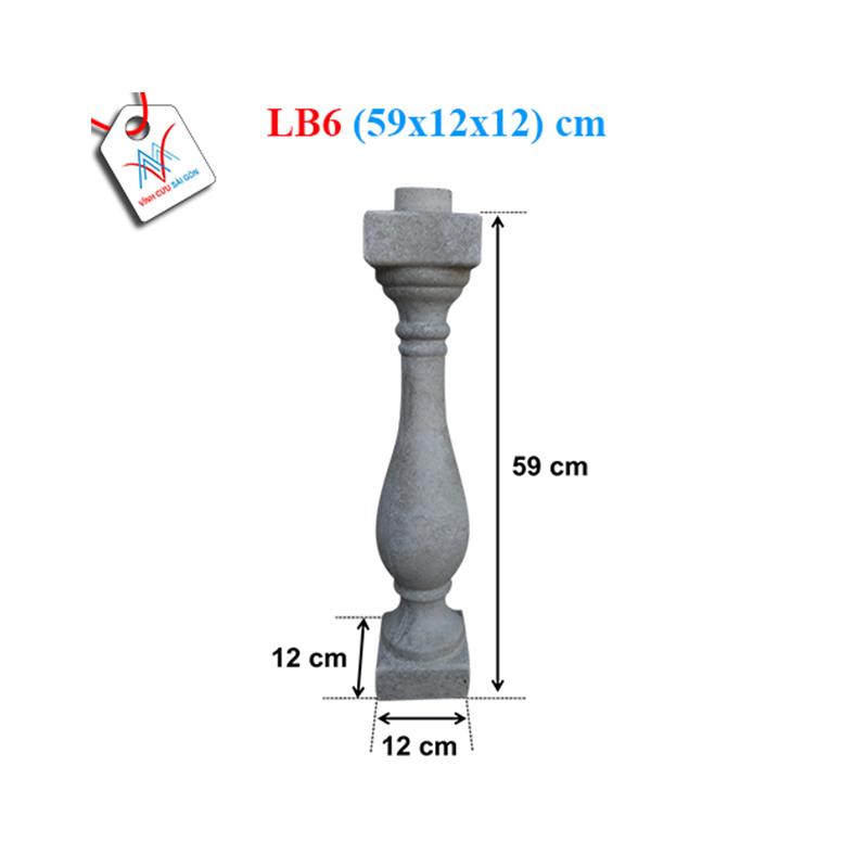Lục bình bầu trơn 60 - LB6 (59x12x12 cm)
